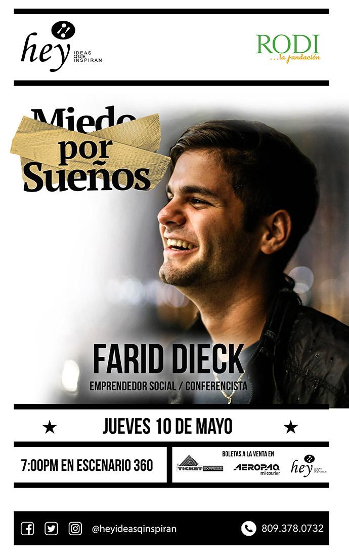 """""""Miedos por Sueños"""" con Farid Dieck"""