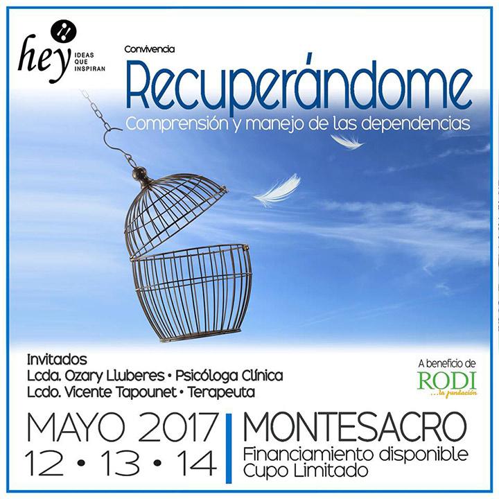 """Recuperándome "" con Ozary Lluberes y Vicente Tapounet"