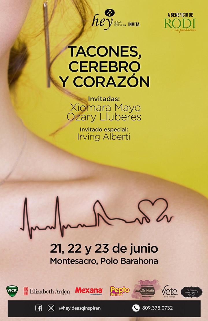 """""""Tacones, Cerebro, Corazón"""" con Ozary Lluberes y Xiomara Mayo"""