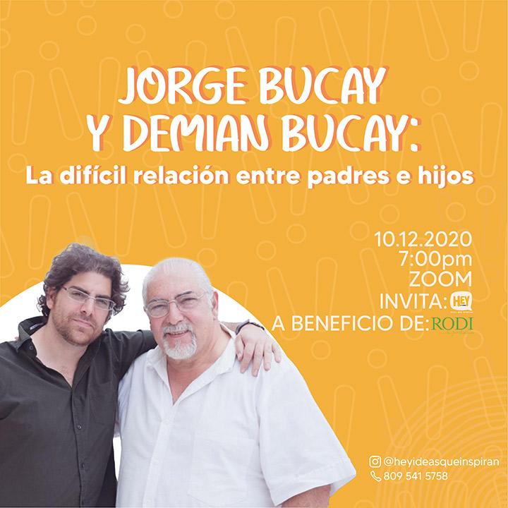 Evento Hey - Jorge Bucay